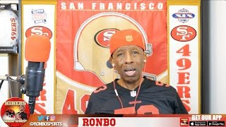 Ronbo Sports In Yo Face, At Yo Place Watching The Game! 49ers VS Cardinals 2016 Week 5 NFL