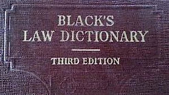 Moors an Black law dictionary