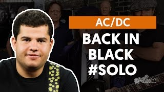 Back In Black - AC/DC (How to Play - Guitar Solo Lesson)