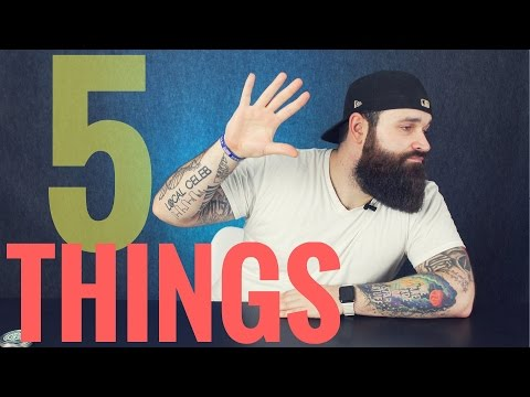 5 things I wish I knew back then | Beginner Beard Tips