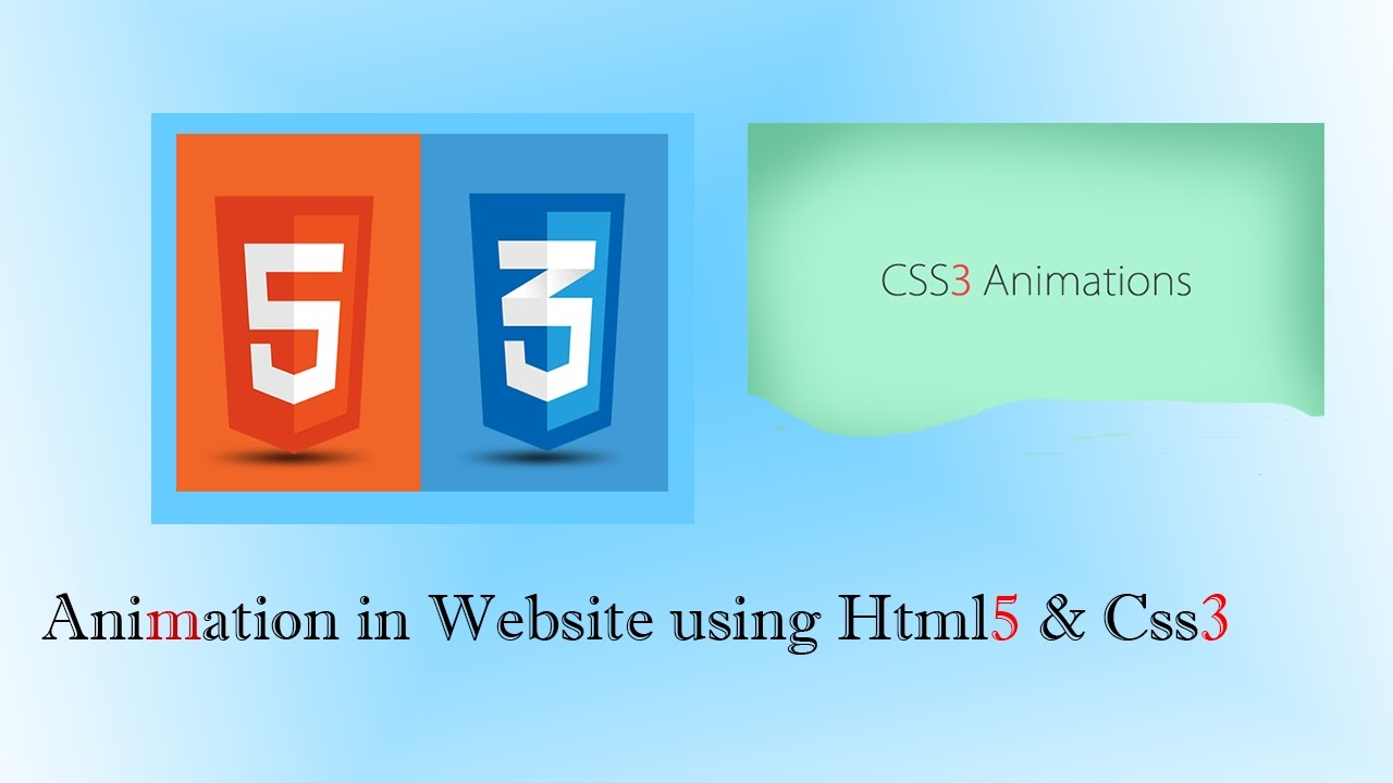 How To Make A Simple Animation Using Html And Css Without Java Script
