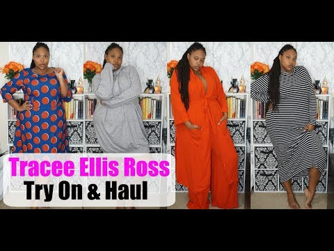 Tracee Ellis Ross Try On & Haul Plus Size Fashion
