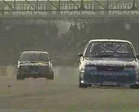 BTCC Silverstone Finale 1992 - last three laps!