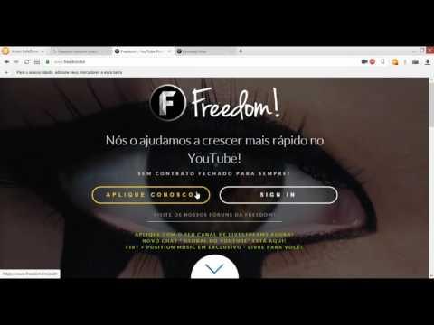 Como entrar na Freedom Network- tutorial completo- PT-BR