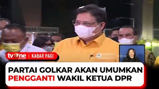 Partai Golkar Gelar Rapat Pleno Membahas Pemilu dan Pengganti Wakil DPR | Kabar Pagi tvOne
