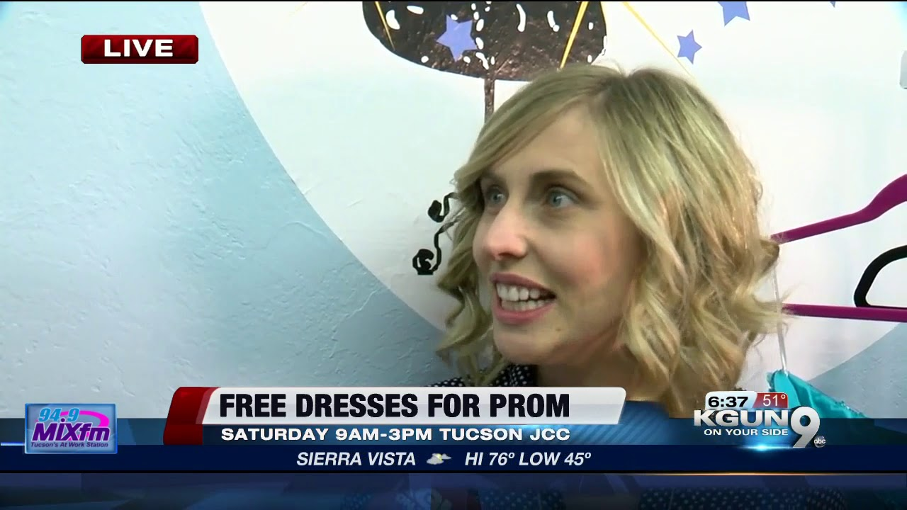 Free prom dresses from Cinderella\'s Closet - YouTube
