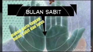 makna garis tangan bulan sabit dan lurus