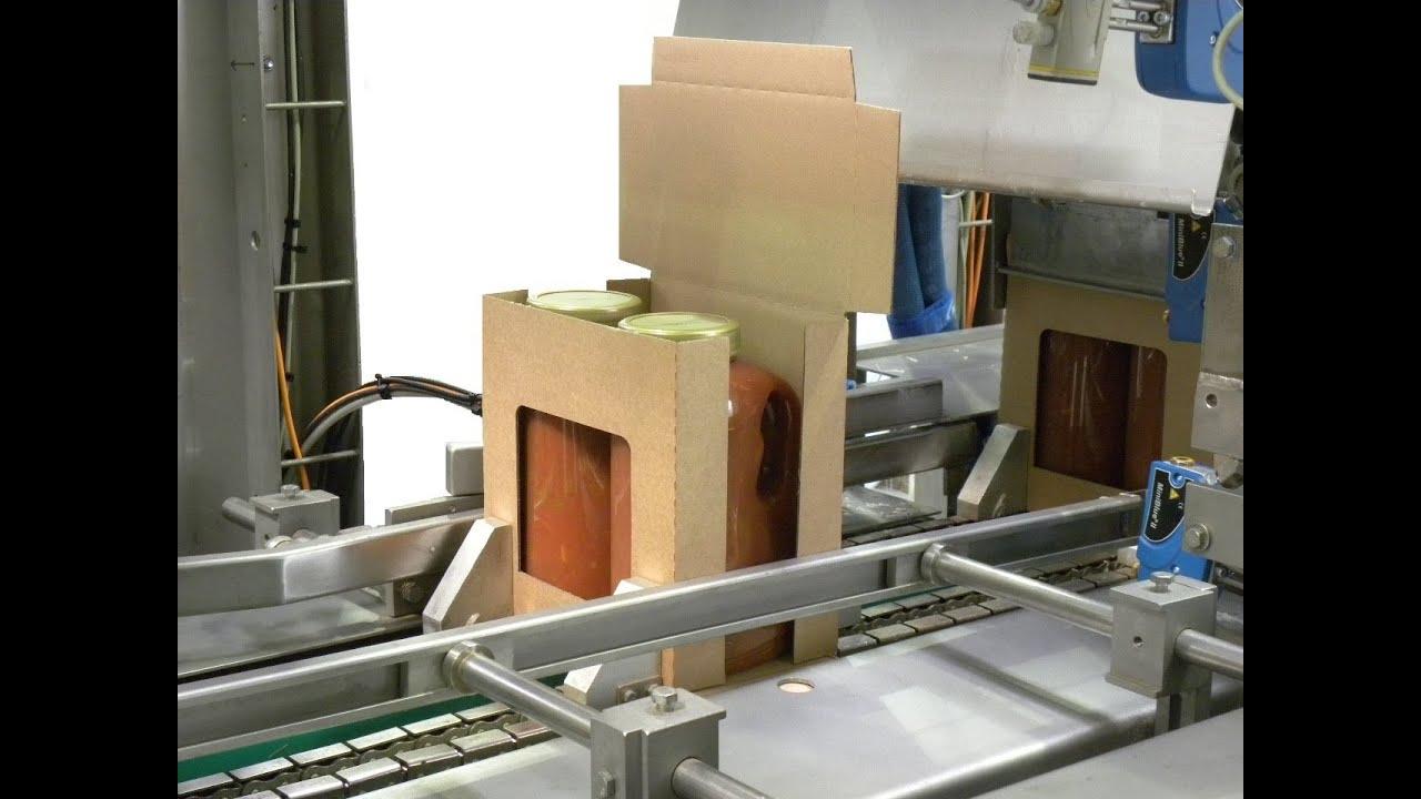 Fully Automatic Flaps Folding Carton Sealer Full Auto Case