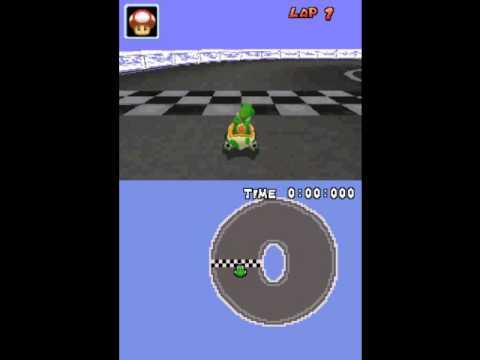 Mario Kart Ds Unused Tracks Test Circle Youtube