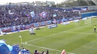 201年3月25日に行われたJ2第5節アウェー横浜FC戦でのFWダヴィ選手のゴー...