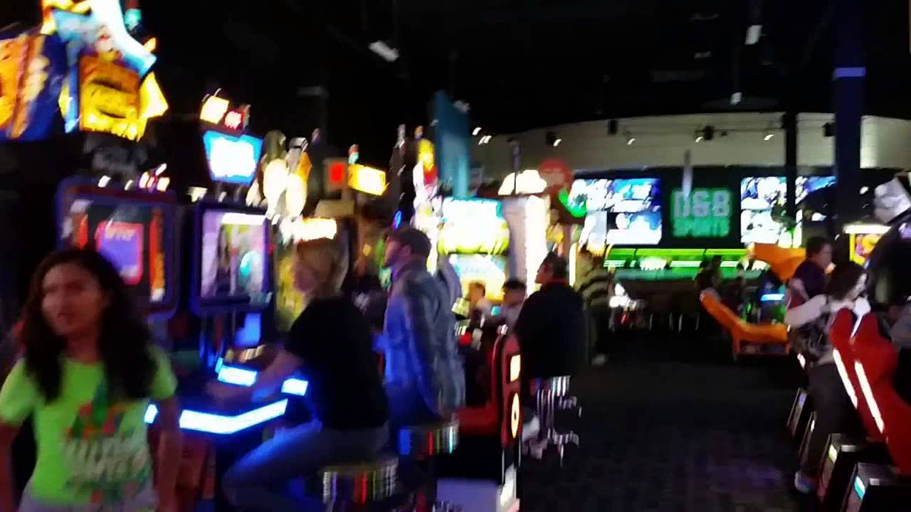 Dave And Busters Complete Tour Video Game Arcade Tour