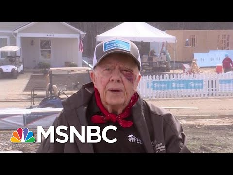 Jimmy Carter: 'The White House Is Trying To Stonewall' | Andrea Mitchell | MSNBC