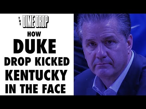 How Duke Drop-Kicked Kentucky in the Face