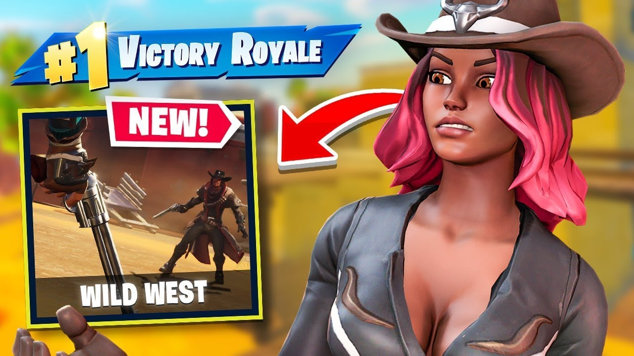 *NEW* WILD WEST Mode Livestream in Fortnite Battle Royale #Ad