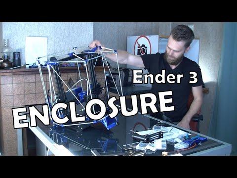 Ender 3 Pro Enclosure Build: The Frame