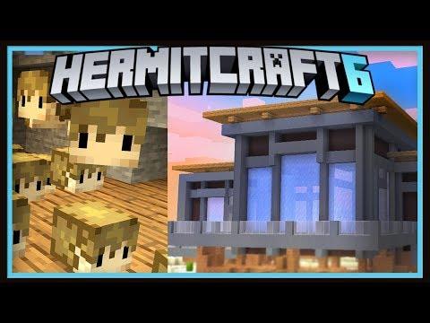 Hermitcraft Season 6: Building The ConCorp Country Club!  (Minecraft 1.13.2 survival  Ep.42)