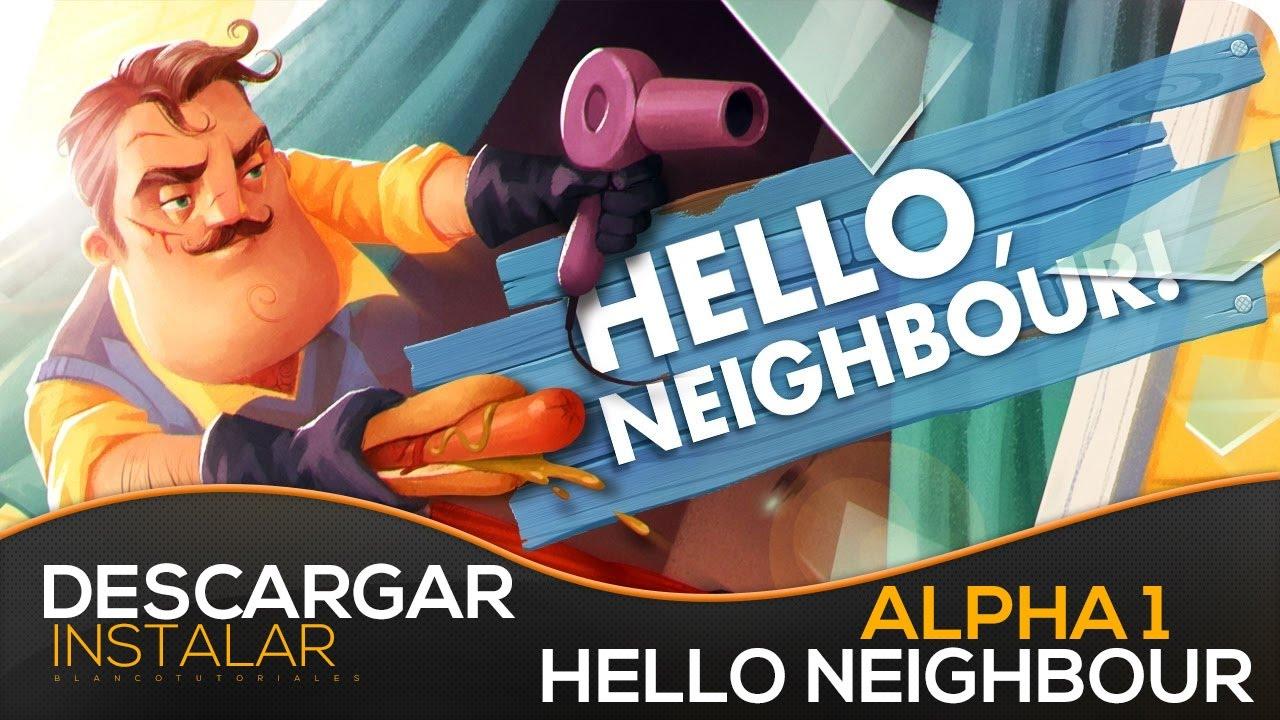 descargar hello neighbor gratis para pc windows 7