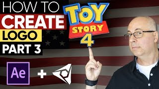 AFTER EFFECTS TUTORIAL: How To Create Toy Story 4 Logo - Part 3