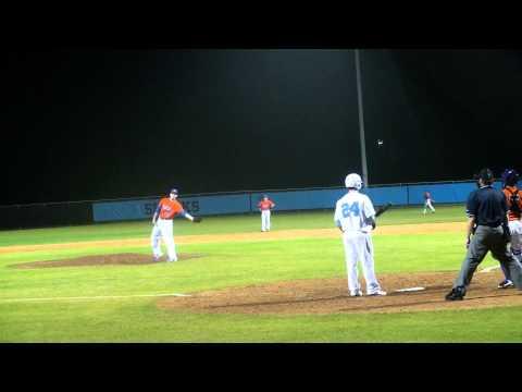 Thomas Belcher side arm pitcher v Ponte Vedra HS 2-28-12