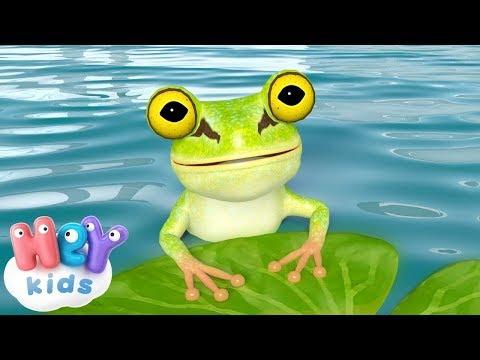 Küçük Kurbağa 🐸 Çocuk Şarkıları Dinle 2018 | HeyKids