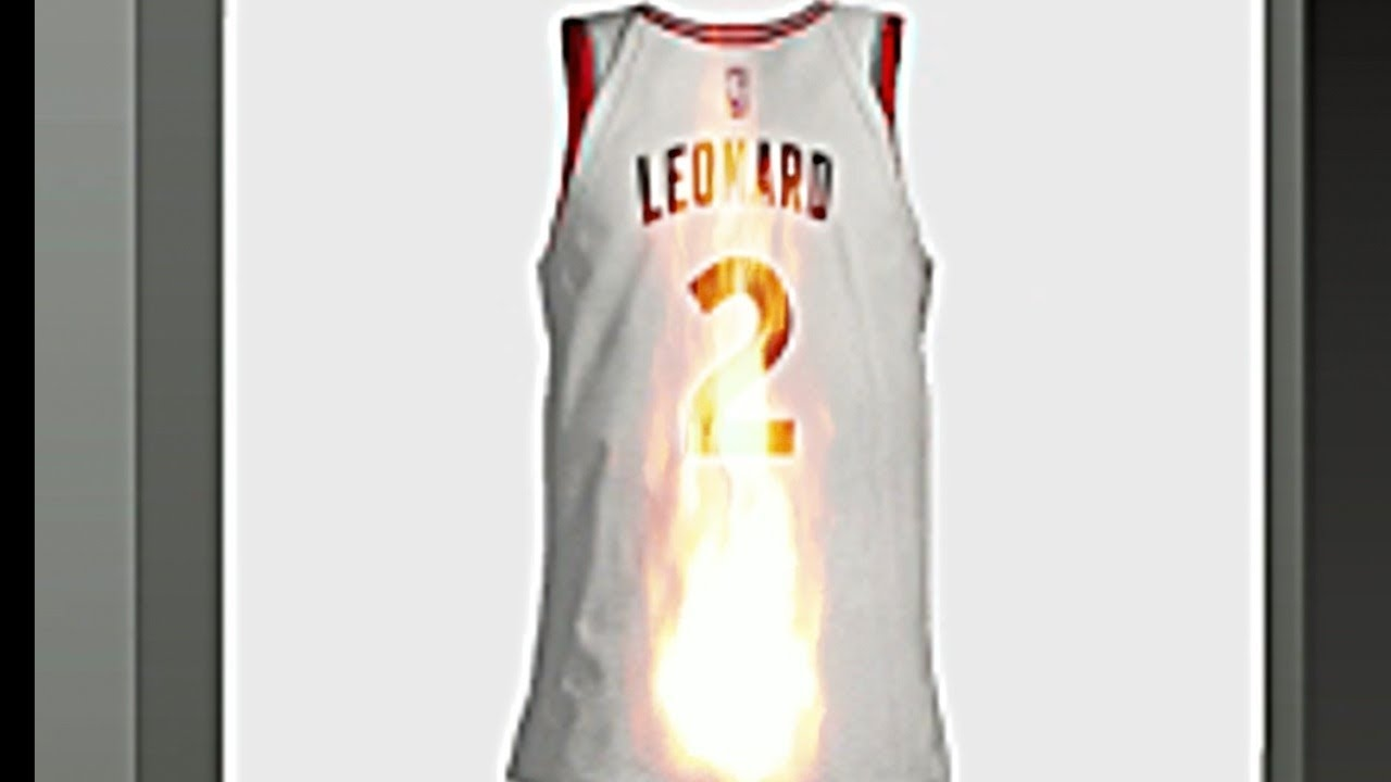 new york 7e059 e1e24 Toronto Raptors Fan Burning Kawhi Leonard Jersey