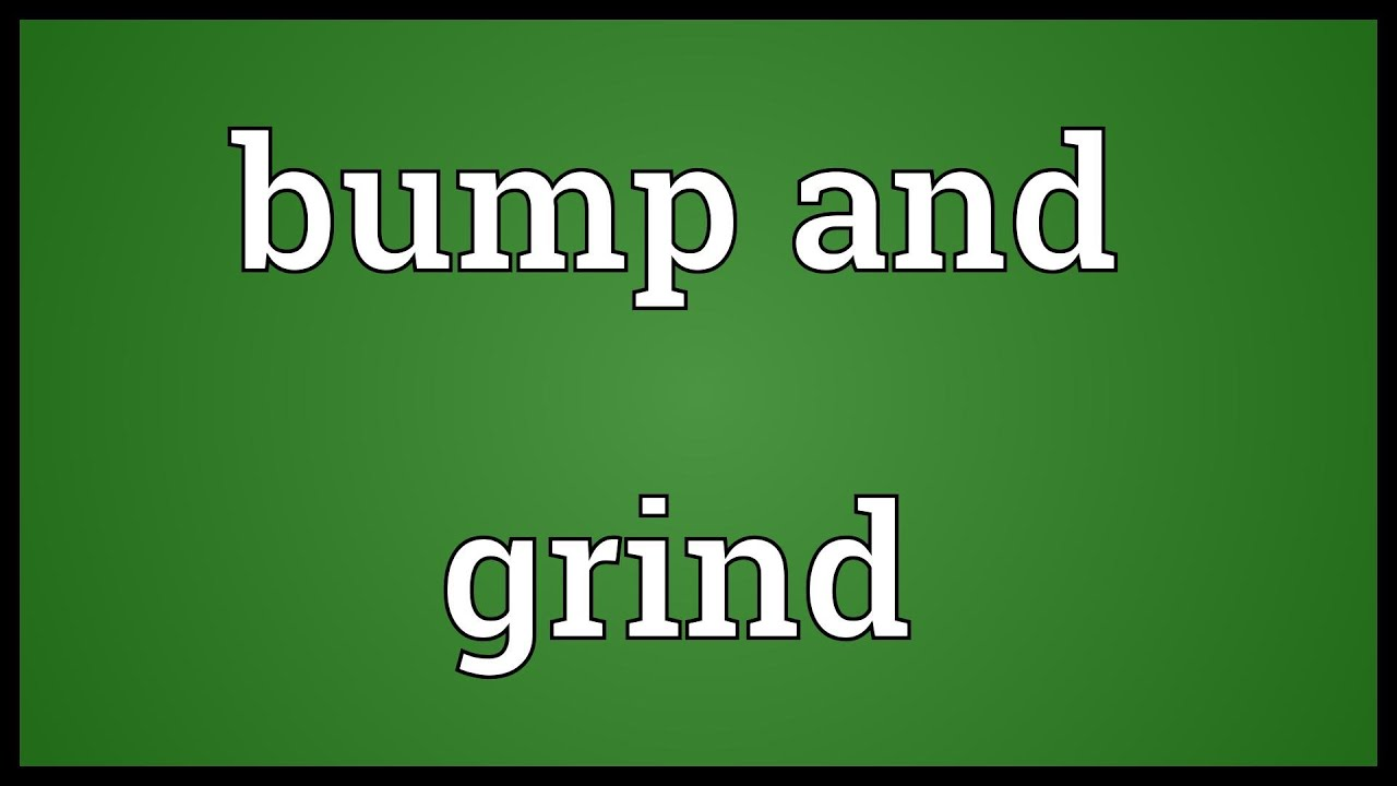 What does grinding sexually mean