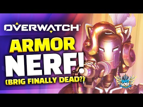 Overwatch - Armor Nerf (End of Brig?) - Paris Map Live! thumbnail