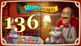 HomeScapes level 136