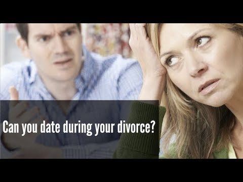 Is it ok to start dating during a divorce
