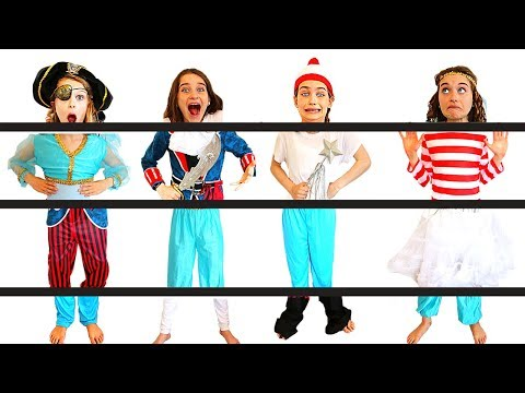 WE'RE MIXED UP! PUT OUR FANCY DRESS OUTFITS BACK TOGETHER AGAIN Challenge By The Norris Nuts