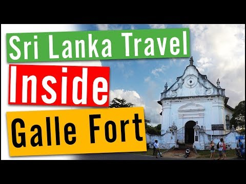 Sri Lanka Travel Vlog #4: Inside Galle Fort