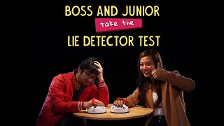 Boss And Junior Take The Lie Detector Test | Ft. Sonali & Akshay | Ok Tested