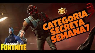 FORTNITE-FREE CATEGORY SECRET WEEK 7 SAISON 4