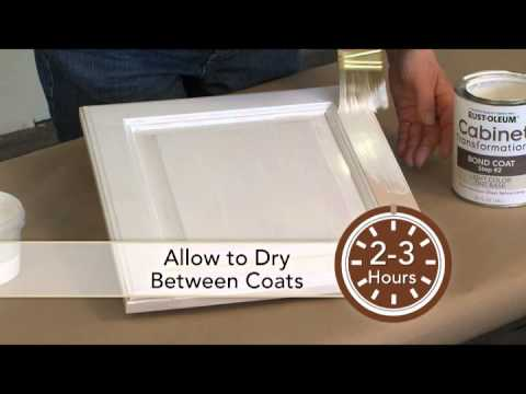 Cabinet Transformations  Dry Brush Glazing Technique