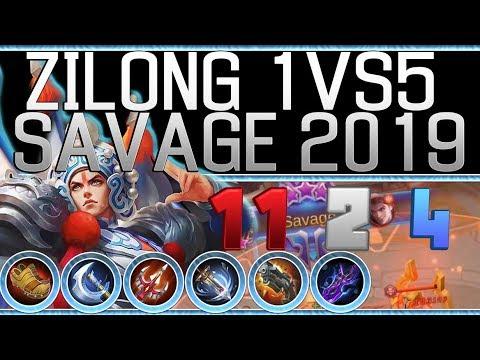 Zilong Savage by Selectra Zilong Savage Build Mobile Legends Bang Bang thumbnail