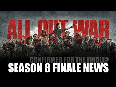The Walking Dead Season 8 Episode 16 News - AMC Won't Let These Actors Leave For RI Comic Con?