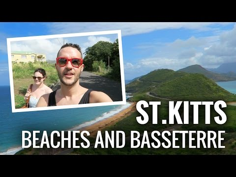 ST KITTS. We explored Basseterre, got lost and hit up the strip.