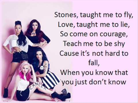 Little Mix  Cannonball - Lyrics Video