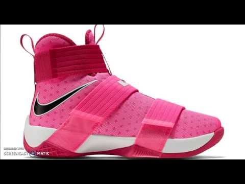 5c1263580e5c55 NIKE ZOOM SOLDIER 10 THINK PINK THOUGHTS - YouTube