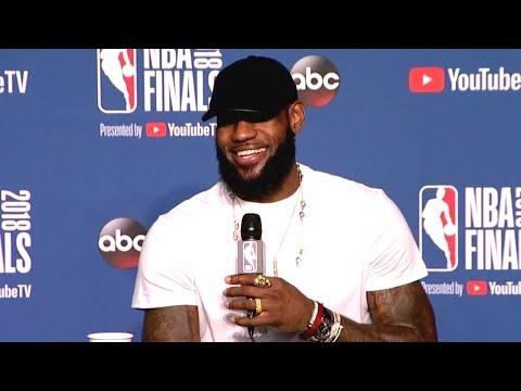 LeBron James Postgame Interview - Game 4 | Warriors vs Cavaliers | June 8, 2018 | 2018 NBA Finals