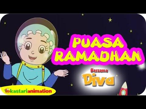 PUASA RAMADHAN Bersama Diva Dan Lagu Anak Islami | Kastari Animation Official