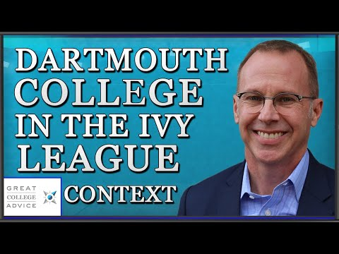 Educational Consultant on Dartmouth College in the Ivy League Context