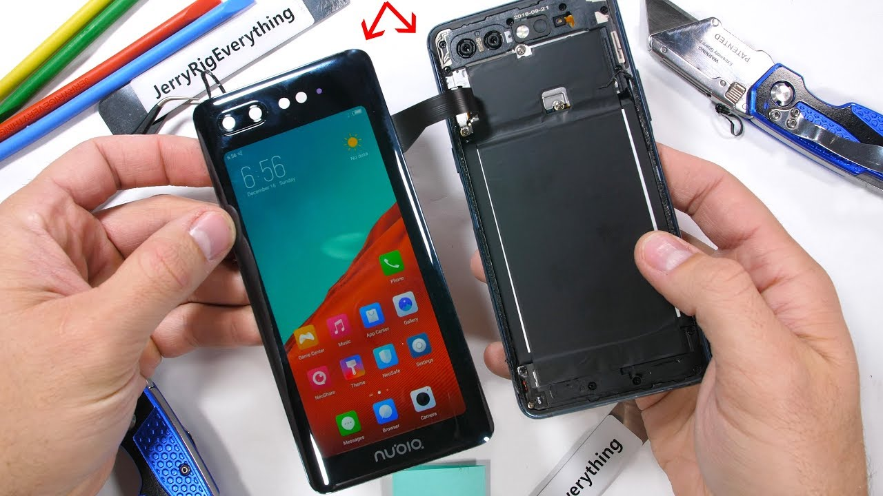 Dual Screen Smartphone Teardown! - How does it work?!