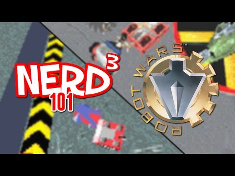 Nerd³ 101 -  Robot Wars - The Game Boy Advance Games