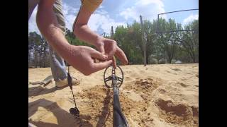 Metal Detecting April 9th 2014 Ring And Clad