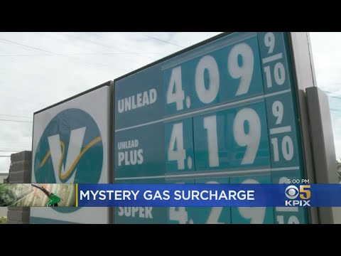 Mystery Surcharge Among Taxes, Fees Added To Gasoline In California