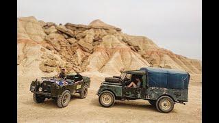 Portuguese Men of Faff Part 9. Land Rover Series One Adventure.