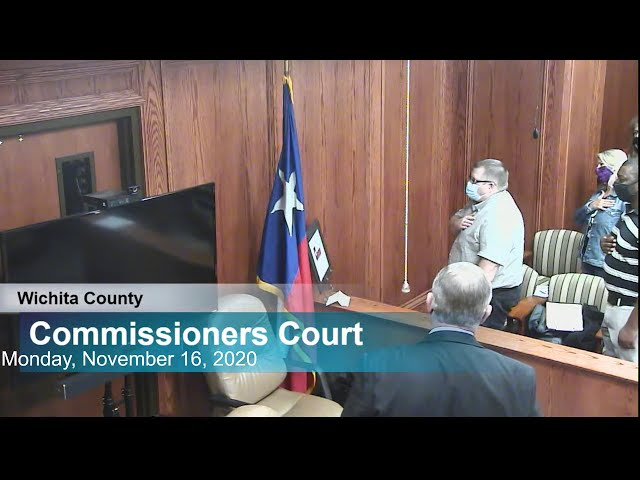 Commissioners Court 11/16/2020