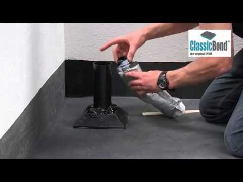 Rubber Roof Pourable Sealer   EPDM Installation Guides And Training