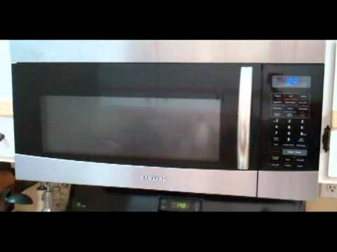 Samsung Microwave Oven Model Smh9187st Youtube